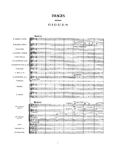 Set III, L.122: For orchestra by Claude Debussy