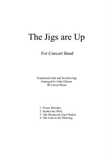The Jigs are Up for Concert Band: The Jigs are Up for Concert Band by folklore