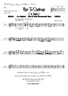 Rise To Challenge (In Jubilee): Dictionary of musical themes (fife) by Ennio Paola