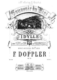 Souvenir du Rigi, Op.34: Full score by Franz Doppler