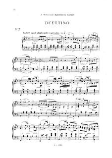 Vingt pièces nouvelles: No.7 Duettino by Théodore Dubois