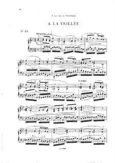 Vingt pièces nouvelles: No.10 A la veillée by Théodore Dubois