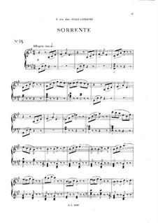 Vingt pièces nouvelles: No.15 Sorrente by Théodore Dubois