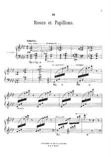 Au jardin: No.2 Roses et papillons by Théodore Dubois
