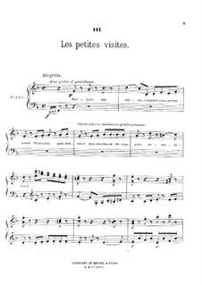 Au jardin: No.3 Les petites visites by Théodore Dubois