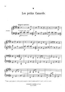 Au jardin: No.5 Les petits canards by Théodore Dubois