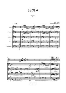 Leola: For flute and strings by Scott Joplin