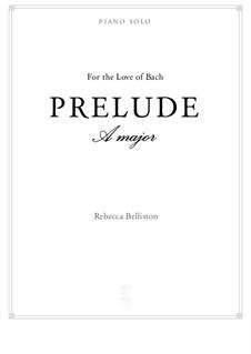 Prelude in G major (piano solo): Prelude in G major (piano solo) by Rebecca Belliston