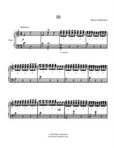 Sonata in A minor: Movement III by Rebecca Belliston
