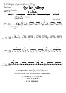 Rise To Challenge (In Jubilee): Dictionary of musical themes (snare drums) by Ennio Paola