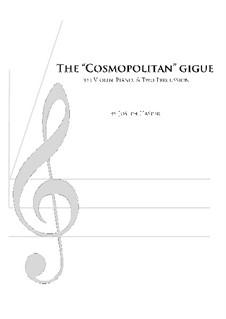 Cosmopolitan Gigue (mixed quartet): Cosmopolitan Gigue (mixed quartet) by Joseph Hasper
