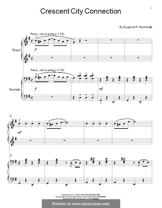 Crescent City Connection: For piano by Wendy Stevens