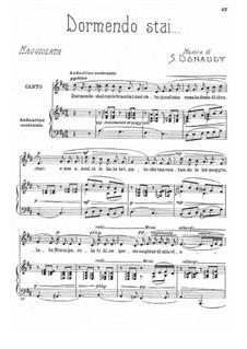 Volume III: Dormendo stai by Stefano Donaudy