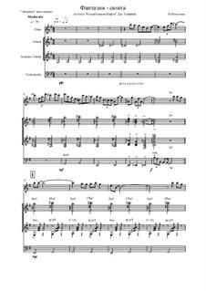 Fantasy Suite on 'Lullaby of Clara' by G. Gershwin: Fantasy Suite on 'Lullaby of Clara' by G. Gershwin by Vladimir Malganov