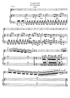 Fantasia on Themes from 'La Traviata' by Verdi, Op.248: For flute and piano by Emmanuele Krakamp