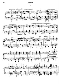 No.2 Dumka: For piano four hands by Antonín Dvořák