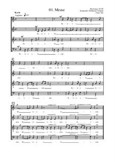 Messe in C: Messe in C by Baldassare Galuppi