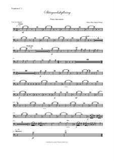 Skargardsshyllning: Trombone I-III parts by Hans-Jürgen Philipp