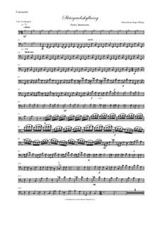 Skargardsshyllning: Cello and double bass parts by Hans-Jürgen Philipp