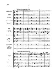 No.6 Sousedská: Full score by Antonín Dvořák