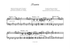Ghost from the Viennese Forest - 6 comments for piano: Musette by Peter Petrof