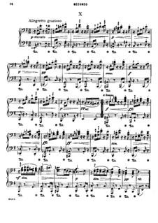 No.2 Starodávny: For piano four hands by Antonín Dvořák