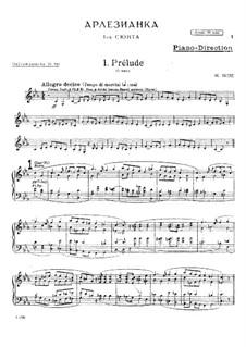 Suite I: Parts by Georges Bizet