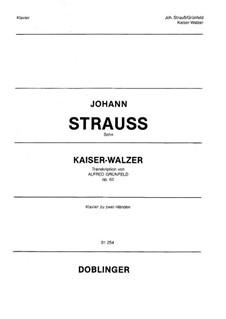 Emperor Waltz, Op.437: For piano, Op.62 by Johann Strauss (Sohn)