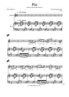 Pio, gk 285: Pio by Giedrius Kuprevičius