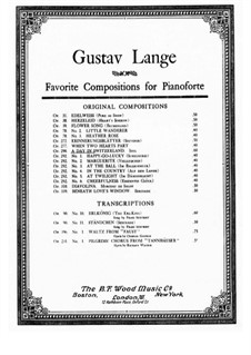 Ein Tag in der Schweiz (A Day in Switzerland), Op.290: For a single performer by Gustav Lange