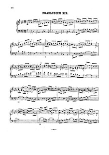 Prelude and Fugue No.19 in A Major, BWV 888: For harpsichord by Johann Sebastian Bach