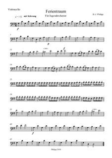 Ferientraum: Cellostimme by Hans-Jürgen Philipp