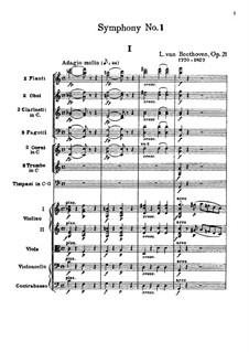 Fragments: Movement I by Ludwig van Beethoven