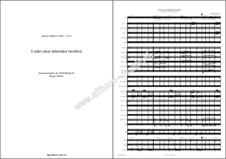 Lieder eines fahrenden Gesellen (Songs of a Wayfarer): Full score, parts by Gustav Mahler