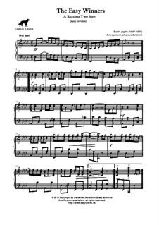 The Easy Winners: Easy version by Scott Joplin