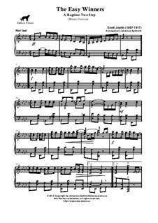 The Easy Winners: Master version by Scott Joplin