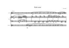 Chansons pour les enfants (Nine songs for children): No.3 pour flûte, guitare et cpiano, MVWV 411 by Maurice Verheul