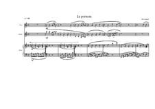 Chansons pour les enfants (Nine songs for children): No.7 pour flûte, guitare et piano, MVWV 415 by Maurice Verheul