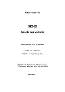 Nemo: Jenseits von Vulkania: Vocal score by Nancy Van de Vate