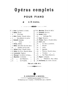Faust: Arrangement for piano by Charles Gounod