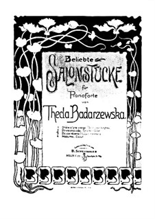 Prière exaucée (Answer of the Maiden's Prayer): For a single performer by Tekla Bądarzewska-Baranowska