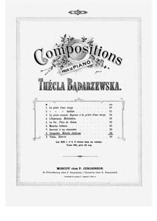 Sympathie: For a single performer by Tekla Bądarzewska-Baranowska