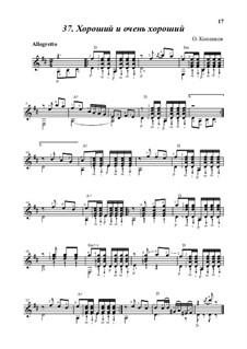 Good and very good, Op.18: Good and very good by Oleg Kopenkov