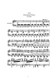Joan of Arc: Piano-vocal score by Giuseppe Verdi