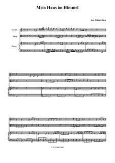 My Home is in Heaven: For viola and piano by folklore
