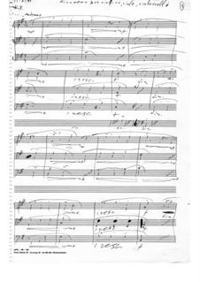 Minuetto for string trio: Minuetto for string trio by Ilias Chrissochoidis