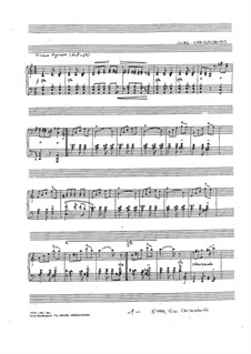 Orgilo: For a single performer by Ilias Chrissochoidis