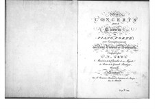 Six Concertos for Strings and Keyboard, Op.11: Cello part by Carl Friedrich Abel