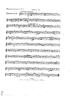 Omnes de Saba venient, HV 40: Oboe I part by Joseph Eybler
