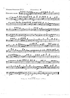 Omnes de Saba venient, HV 40: Bassoon I part by Joseph Eybler